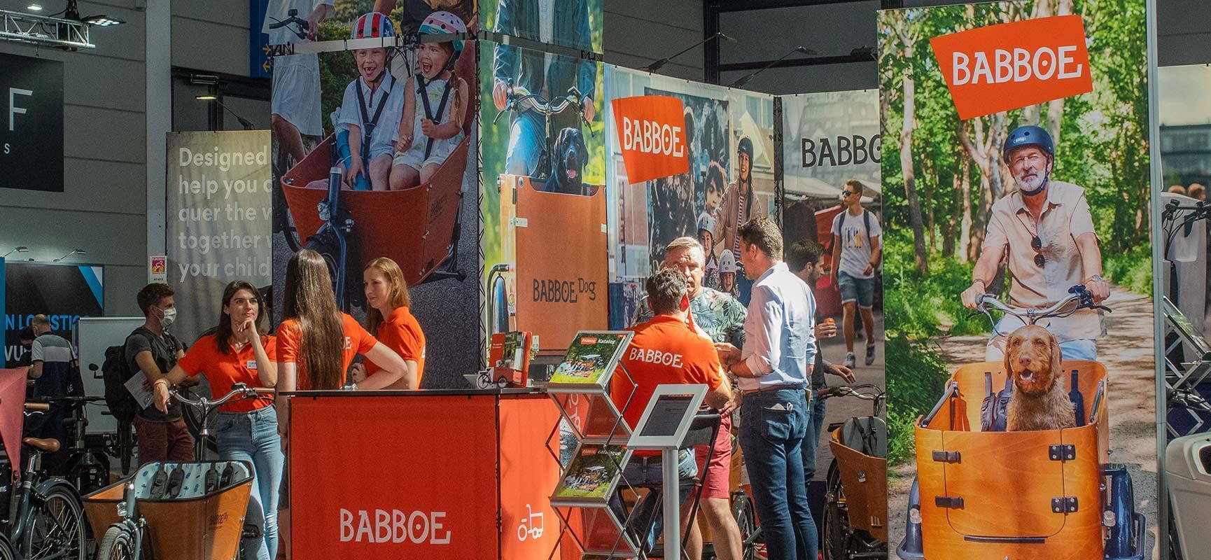 Babboe à l'Eurobike, le plus grand salon du vélo en Europe