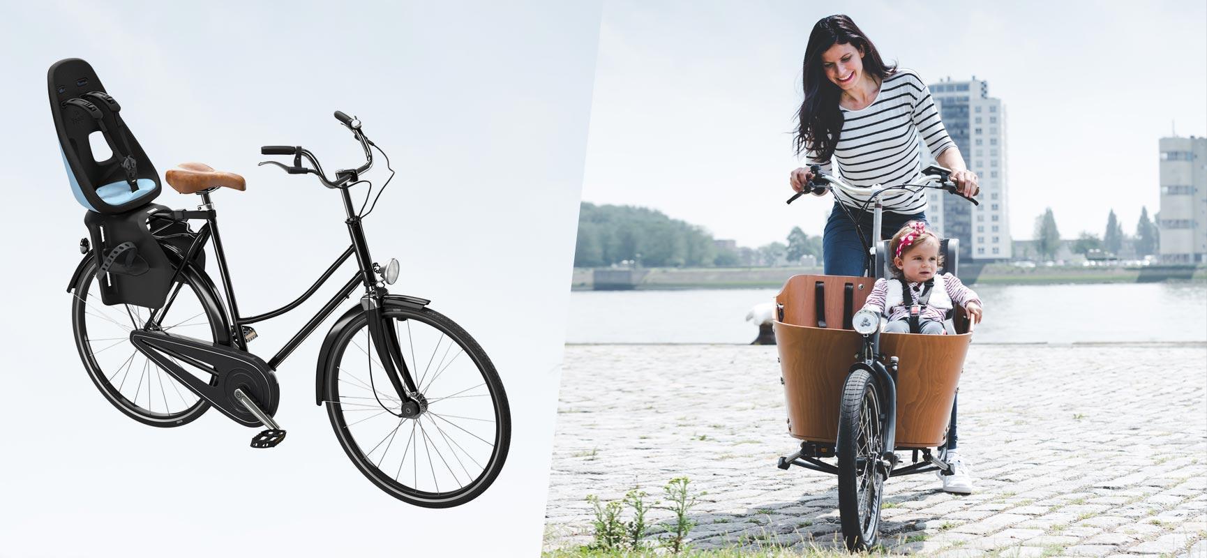 Vélo avec sièges enfants vs. vélo cargo - Quels sont les avantages et les inconvénients ?