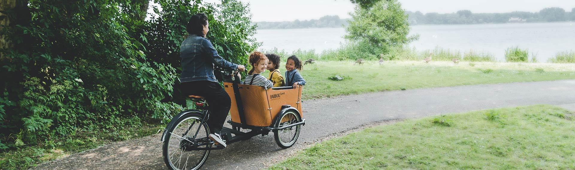 Vélos cargo non électriques