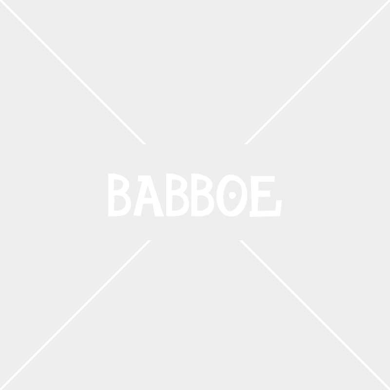 OUTLET Tente protection pluie rouge | Babboe Big