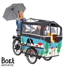BOET by Babboe bakfiets stickers Anteater