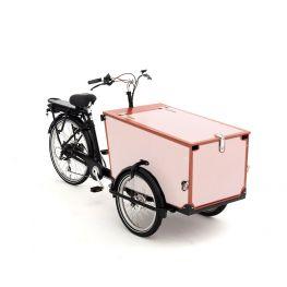 Babboe Pro bakfietsstickers Trike hout 3 zijden + klep