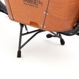 Babboe béquille de vélo anthracite