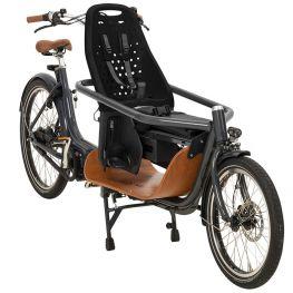 Yepp Maxi fietsstoeltje zwart