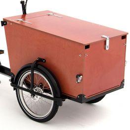 Babboe Pro panneaux de bois Trike