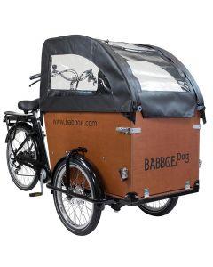Babboe Tente de protection de plui noir