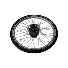 Babboe achterwiel QWIC incl. onderdelen