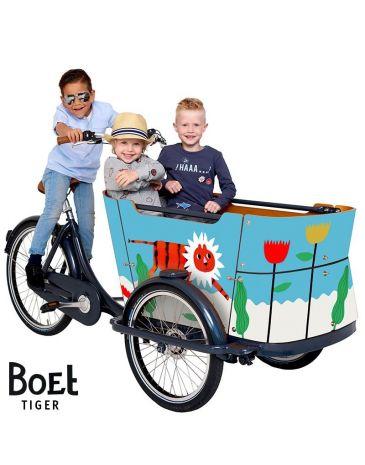 Babboe BOET vélo cargo autocollants Curve