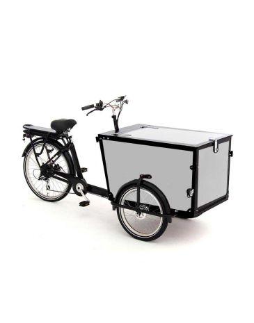 Babboe Pro vélo cargo autocollants Trike noir 3 côtés + couvercle