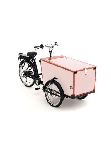 Babboe vélo cargo autocollants Pro Trike bois - 4 côtés + couvercle
