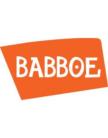 Babboe achterspatbordstang zilver