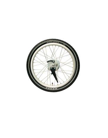 Babboe roue avant SA argent (1 piece)