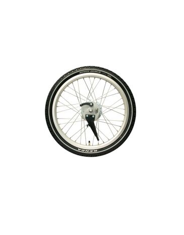 Sturmy Archer roue avant argent