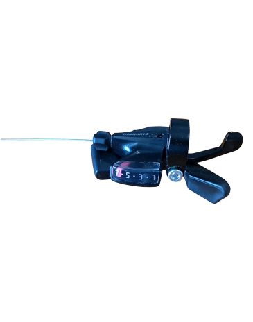 Shimano shifter zwart 7-speed