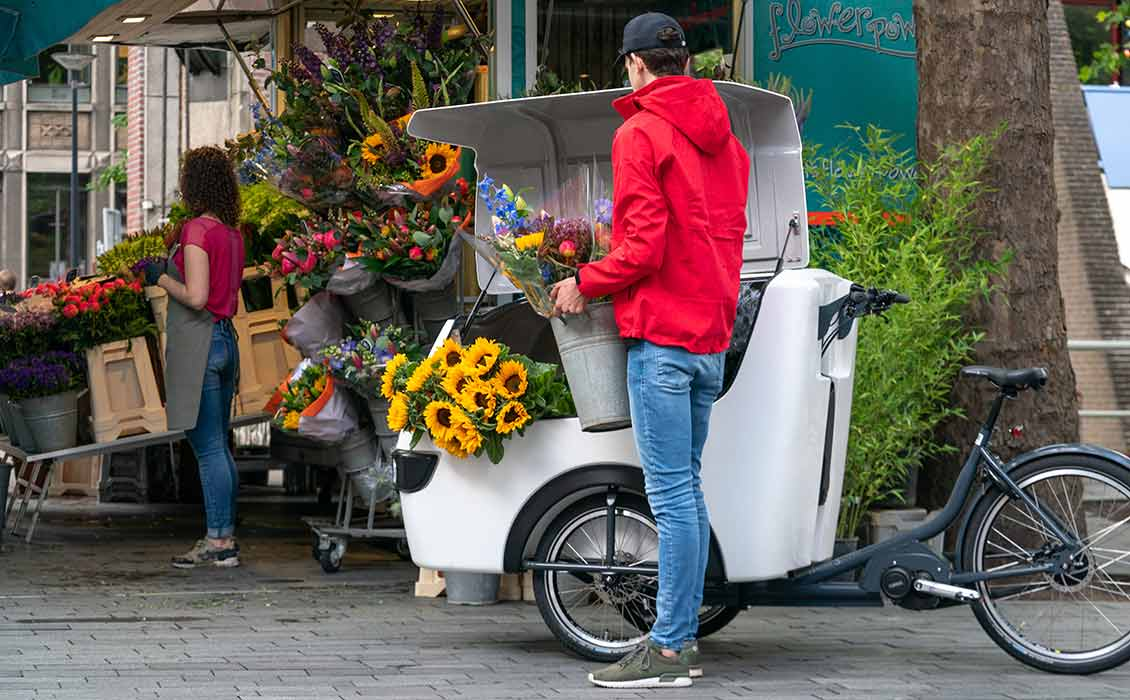 cargo e bike stad