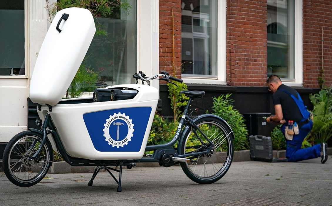Cargobike eigen logo